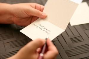 Handwritten Note - Show you care