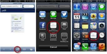 steps to create iphone shortcut