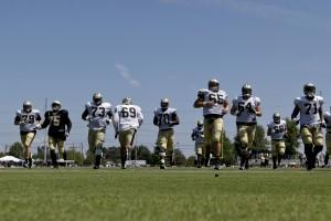 New Orleans Saints Training Camp