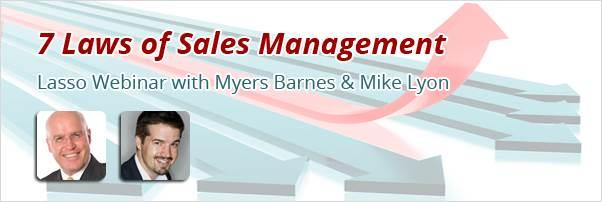 7 Laws of Sales Management