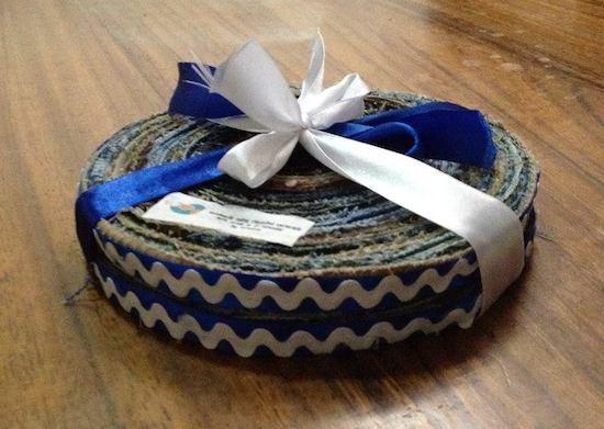 Handmade hot pads by The Sowers of Jireh in El Salvador