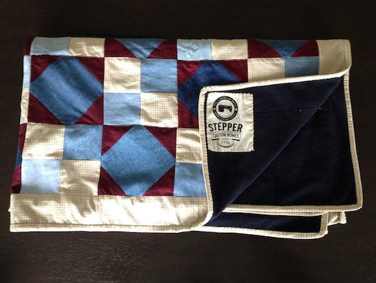 A Gift 10 Times Over:  Stepper Custom Homes Gives Handmade Quilts to Help Families in El Salvador