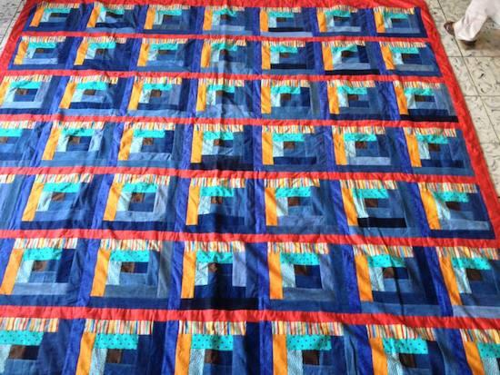 The Sowers of Jireh in El Salvador create quilts from recycled materials.
