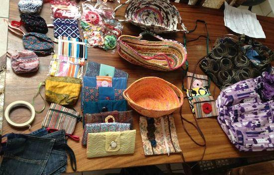 Handmade items from The Sowers of Jireh in El Salvador