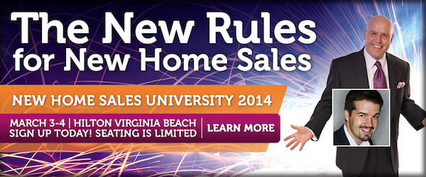 The New Rules for New Home Sales