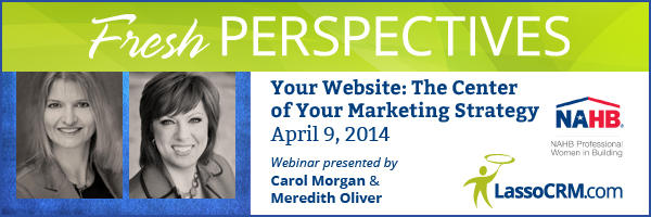 Carol Morgan and Meredith Oliver Kick Off Fresh Perspectives Webinar Series
