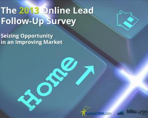 The 2013 Online Lead Follow Up Survey