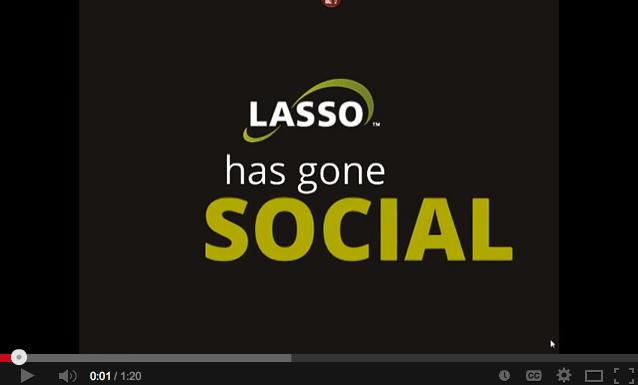 Lasso CRM has Gone Social! [VIDEO]