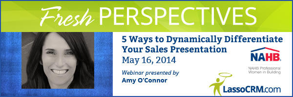 Amy O'Connor delivers the third Fresh Perspectives webinar on May 16, 2014.