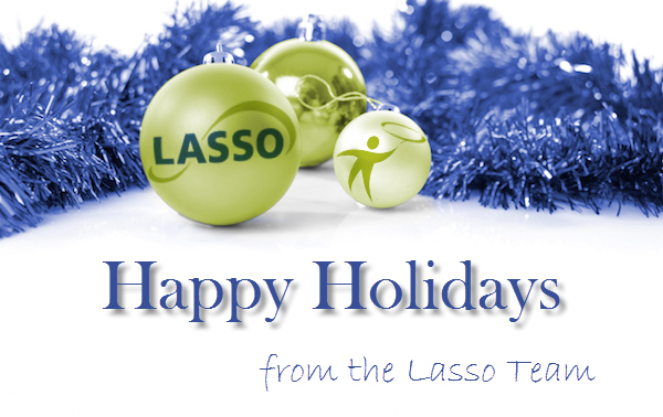 Happy Holidays from the Lasso Team