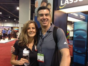 Lasso's Judy Wittenberg and Dave Betcher at IBS 2015