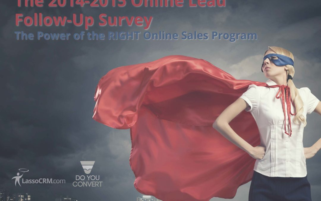 New White Paper | The 2014 Online Lead Follow-Up Survey