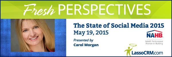 Fresh Perspectives 2015 Webinar with Carol Morgan