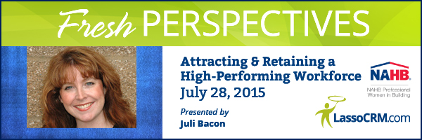Fresh Perspectives 2015 Webinar with Juli Bacon