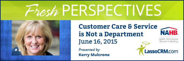 Fresh Perspectives 2015 Webinar with Kerry Mulcrone