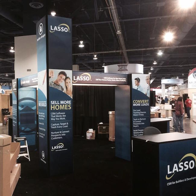 Lasso Booth at IBS