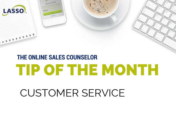 OSC Tip of the Month | Customer Service