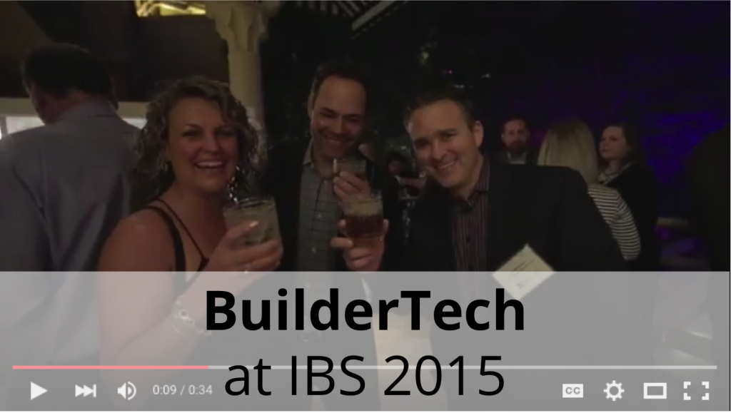 Builder Tech at IBS 2015