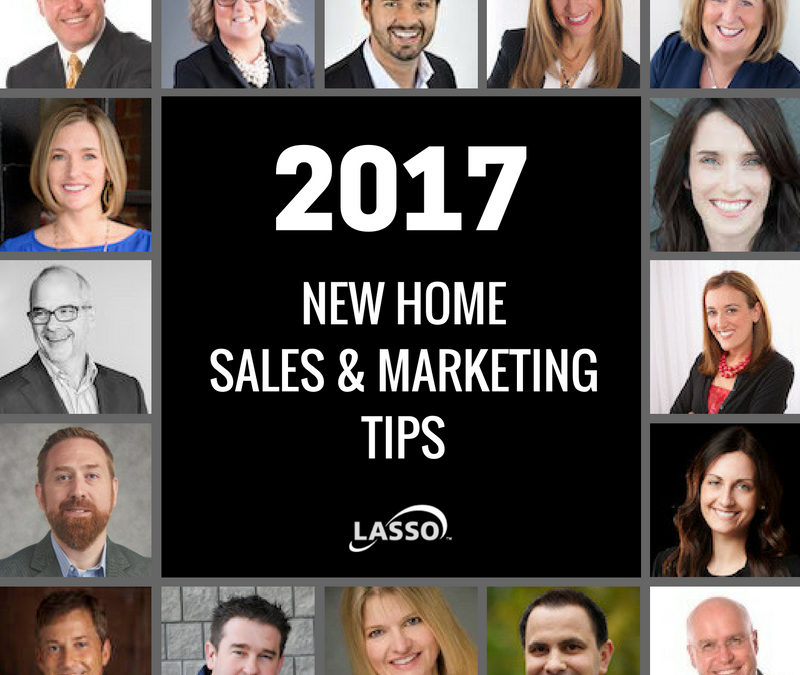 Top New Home Sales & Marketing Tips for 2017