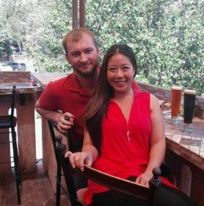 Shari Morton and husband