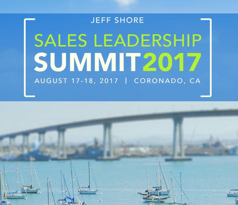Lasso to Sponsor Jeff Shore Sales Leadership Summit 2017