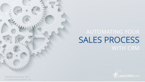 NEW GUIDE: Automating Your Sales Process with CRM
