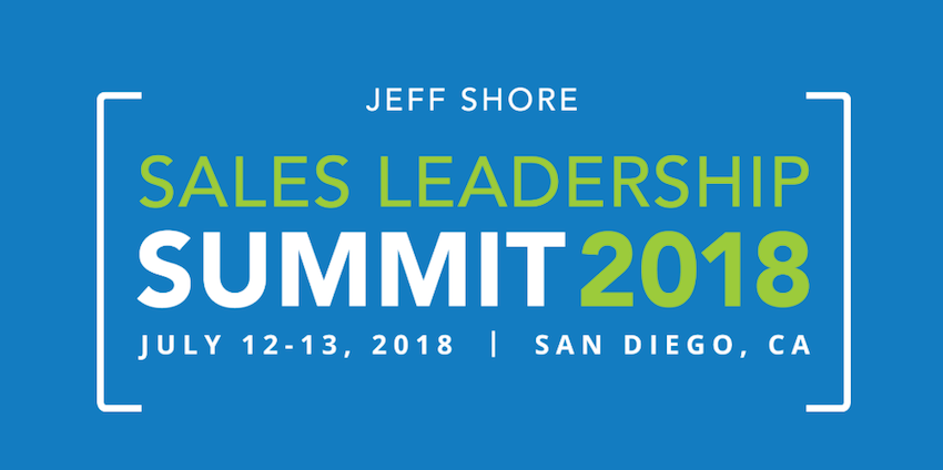 Lasso to Sponsor the 2018 Jeff Shore Sales Leadership Summit