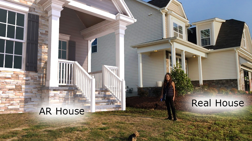 Rendering House AR House