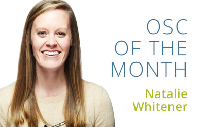 OSC of the Month | Natalie Whitener
