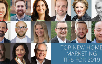 Top New Home Marketing Tips for 2019