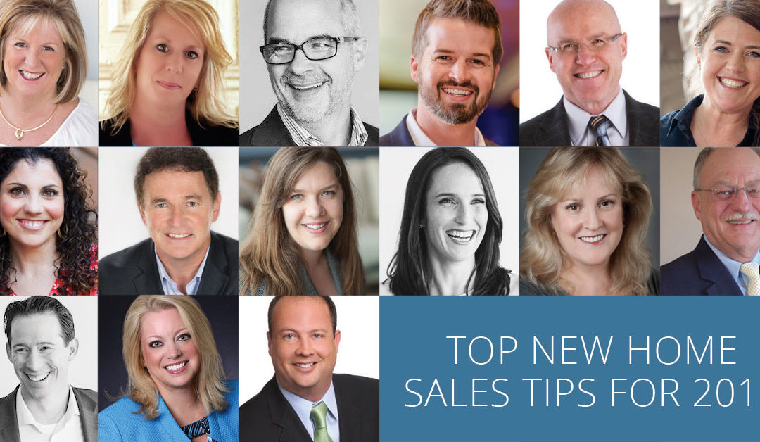 Top New Home Sales Tips for 2019
