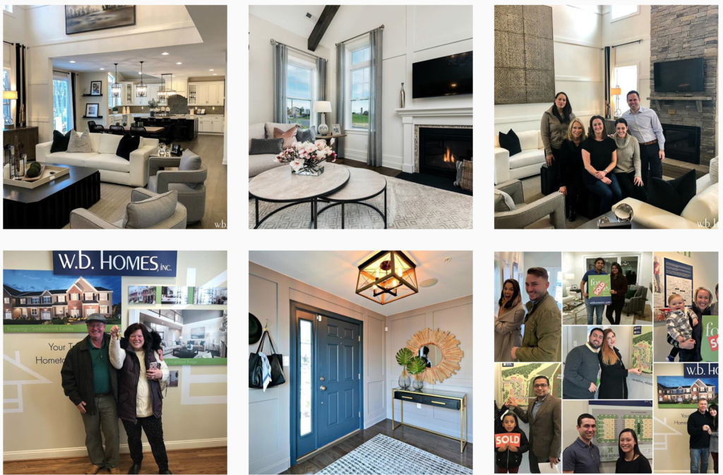 W.B. Homes on Instagram