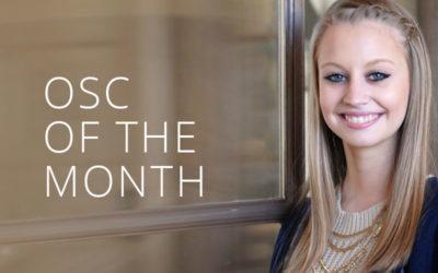 OSC of the Month | Faith Blalock