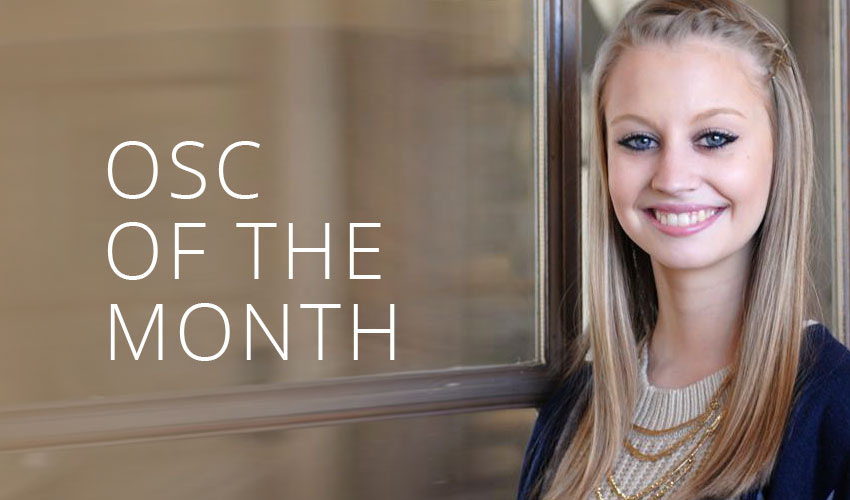 OSC of the Month | Faith Blalock