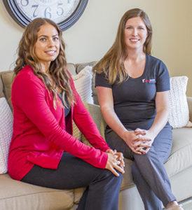 Rachel and Erin at Red Door Homes
