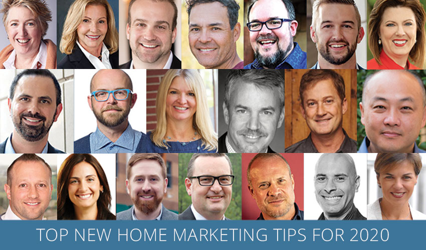 Top New Home Marketing Tips for 2020
