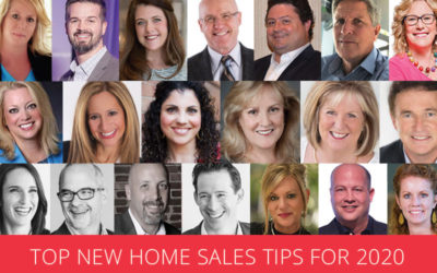 Top New Home Sales Tips for 2020