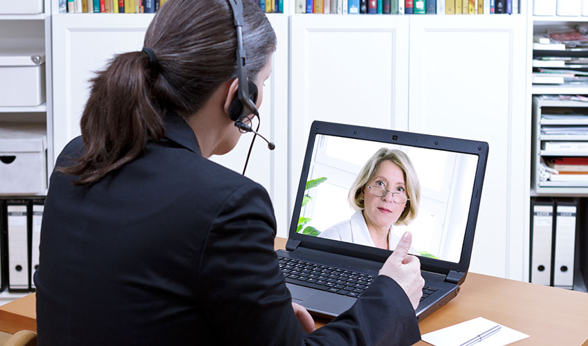 Using Virtual Meeting Tools to Stay Connected