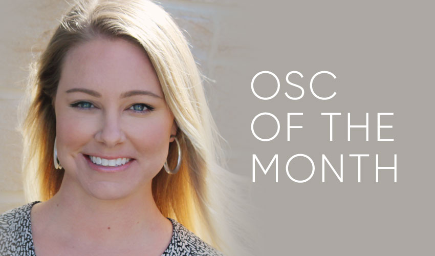 OSC of the Month | Kelsey Eissler