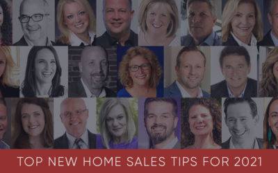 Top New Home Sales Tips for 2021
