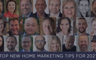 Top New Home Marketing Tips for 2021